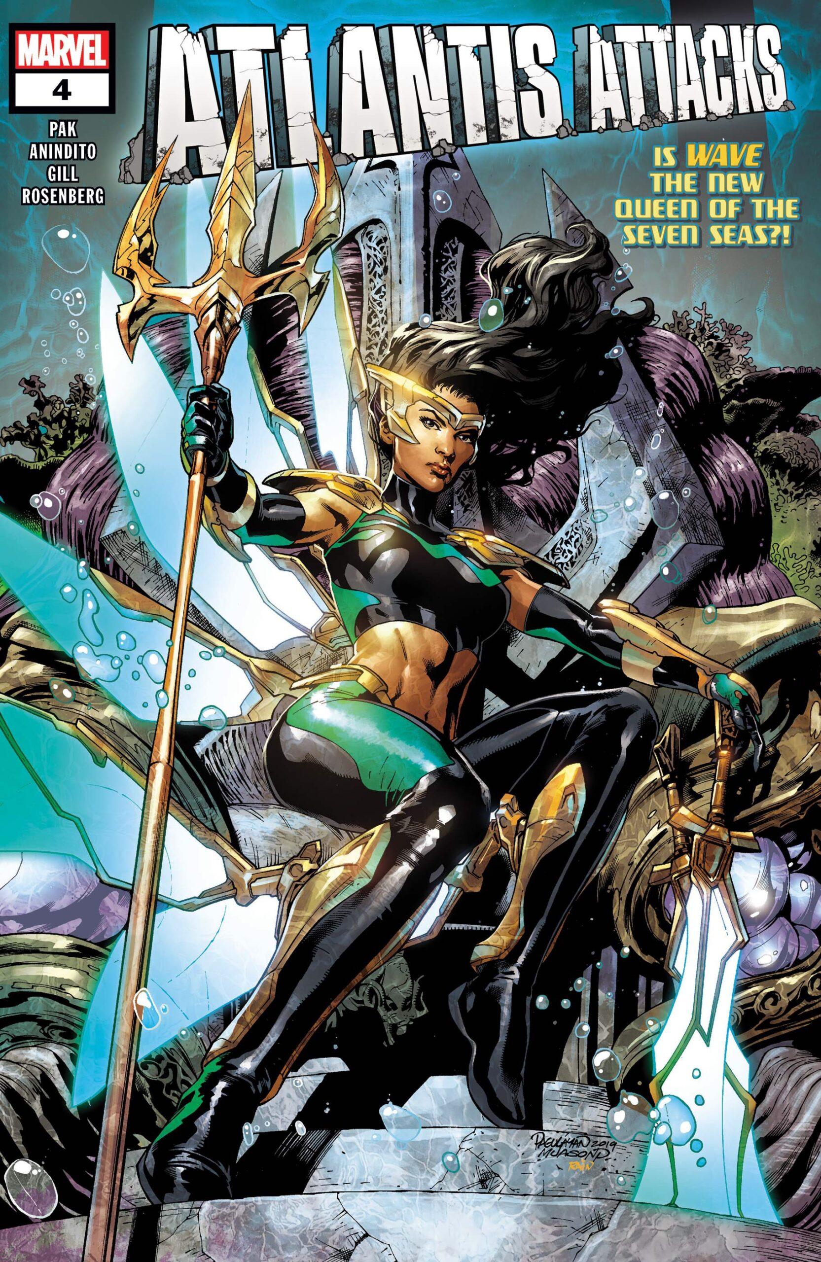 Atlantis Attacks #4 Cover