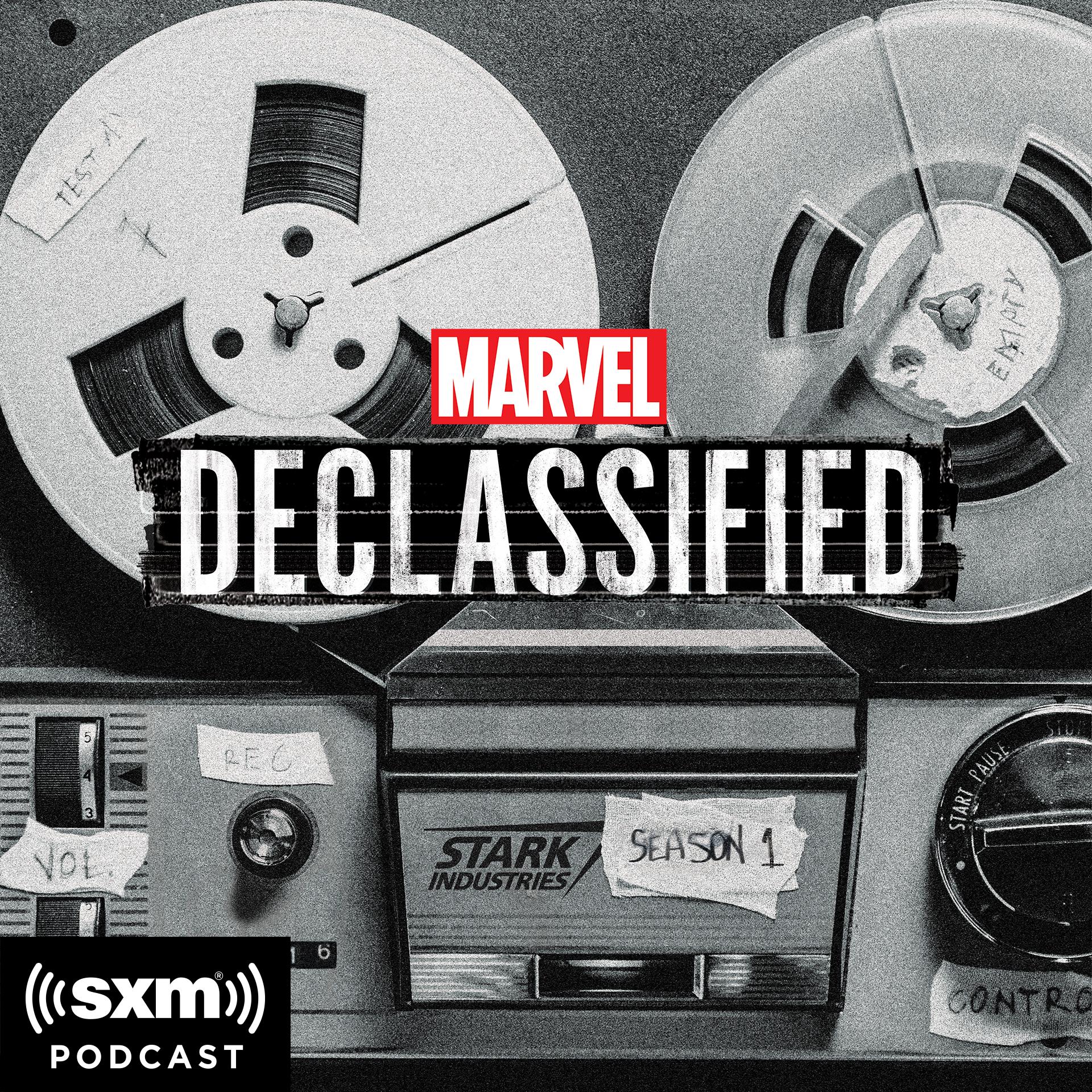 Marvels Declassified logo