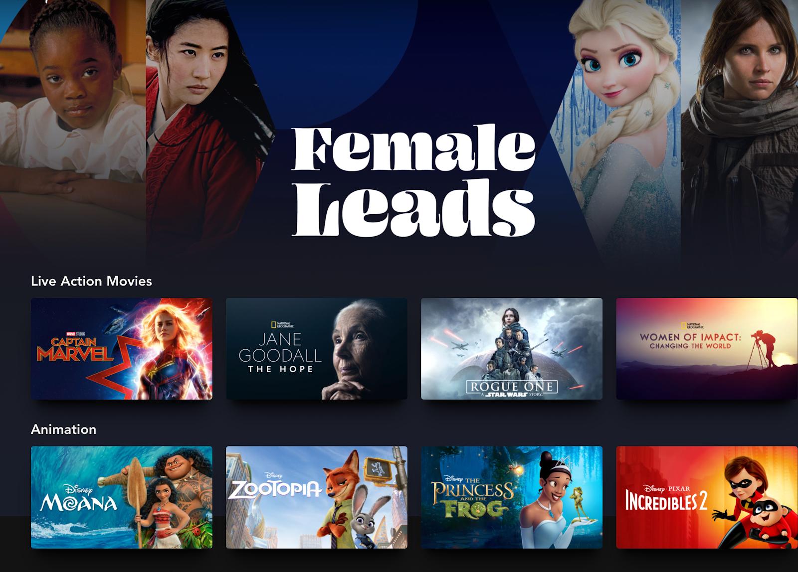 Disney Plus Womans History e1615247185332